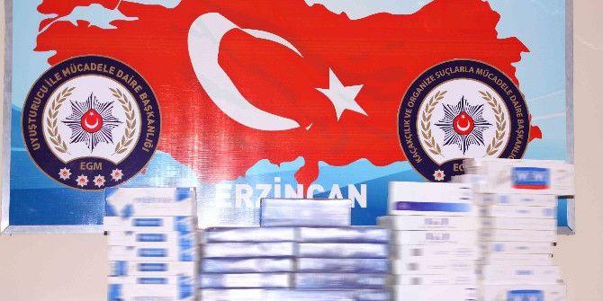 Erzincan'da Kaçak Sigara Operasyonu