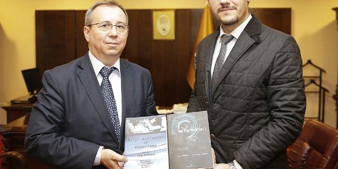 Tunca Meslek Yüksekokulu'ndan Rektör Tabakoğlu'na Ziyaret