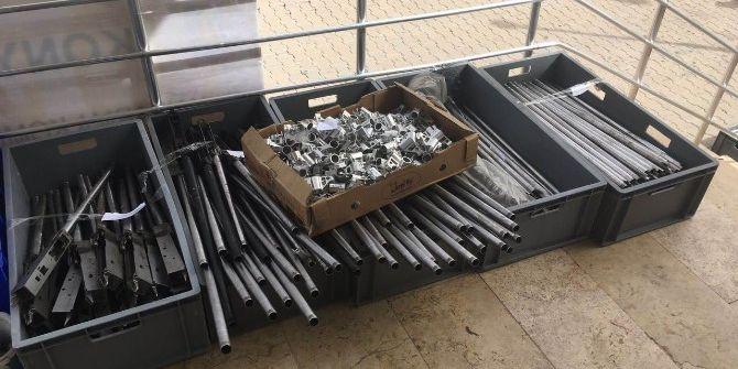 Beyşehir'de Merdiven Altı Silah İmalathanesi Kapatıldı