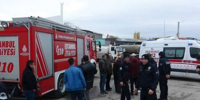 İstanbul'da yakıt tankeri patladı: Yaralılar var