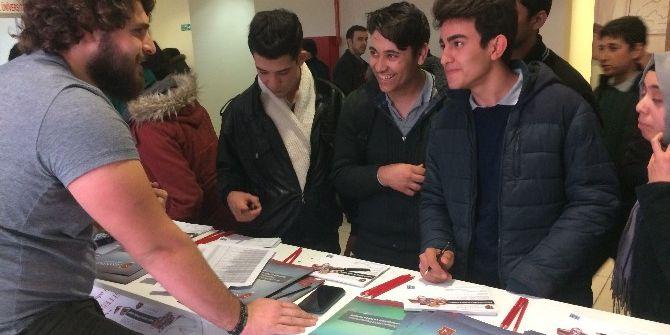 Gaziantep Yüksek Öğrenim Fuarı'na Yoğun İlgi