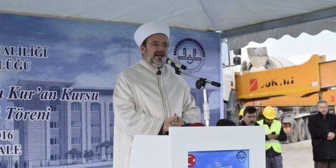 Diyanet İşleri Başkanı Görmez Kırıkkale'de