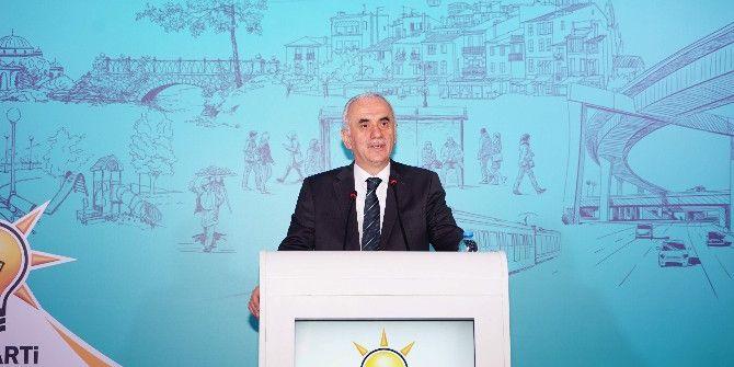 Ak Parti Yerel Yönetimler 3. Bölge İstişare Ve Değerlendirme Toplantısı Kastamonu'da Yapıldı