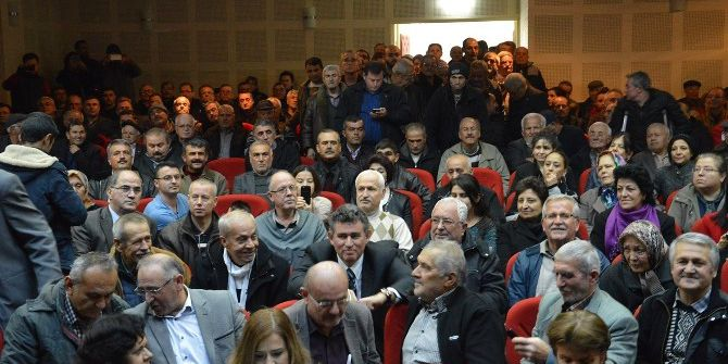 Türkiye Barolar Birliği Başkanı Feyzioğlu Saruhanlı'da