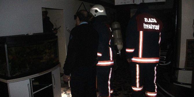 Elazığ'da İş Yeri Yangını: 1 Yaralı
