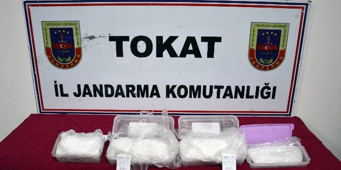 Tokat'ta 'Metamfetamin' Sentetik Uyuşturucu Madde Ele Geçirildi
