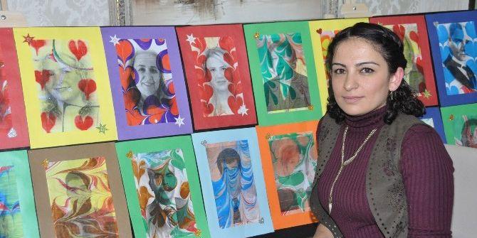 Gkv'de Ebrulu Portreler Sergisi Büyük İlgi Görüyor