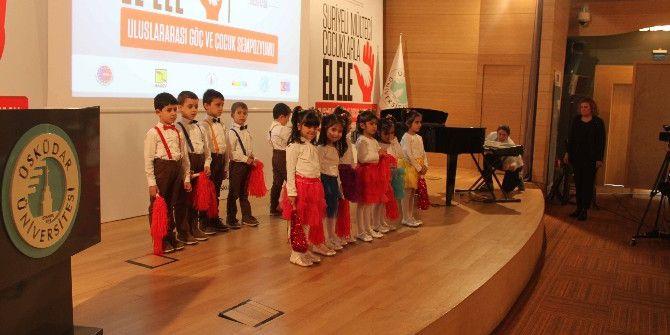Suriyeli Mülteci Çocuklarla 'Göç Ve Çocuk' Sempozyumu