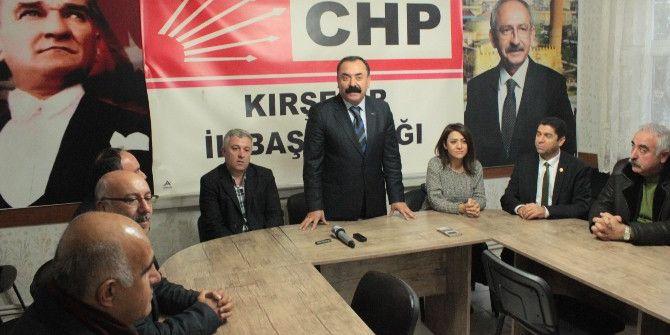 Chp'li Vekillerin Kırşehir Ziyareti