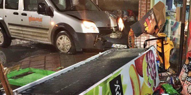 Bartın'da Korkutan Kaza