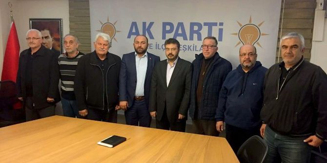 Söke Ak Parti'nin İlçe Başkanları Referanduma Hazır