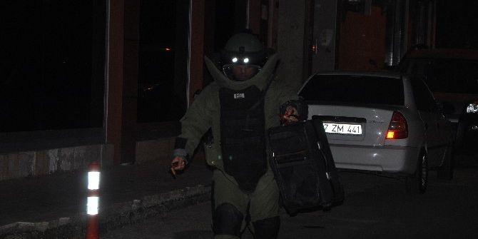 Antalya'da Boş Valiz Polisi Alarma Geçirdi