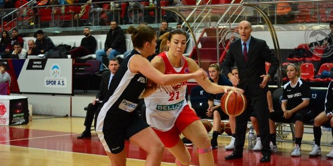 Bellona Agü Spor'dan Euro Cup'ta 5'te 5