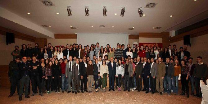 Başkan Yaşar, Yurt Öğrencileriyle Yemekte Buluştu