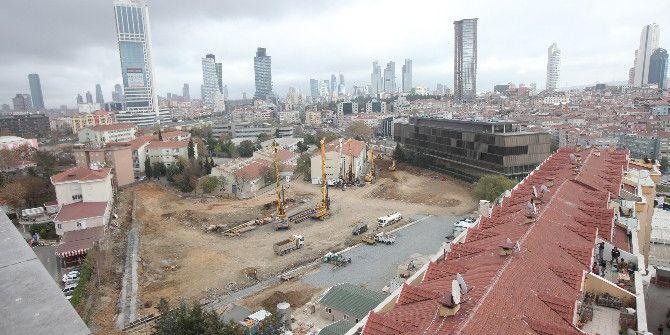 Şişli'de Yapılması Planlanan 4 Gökdelenin İnşaatı İkinci Kez Durduruldu