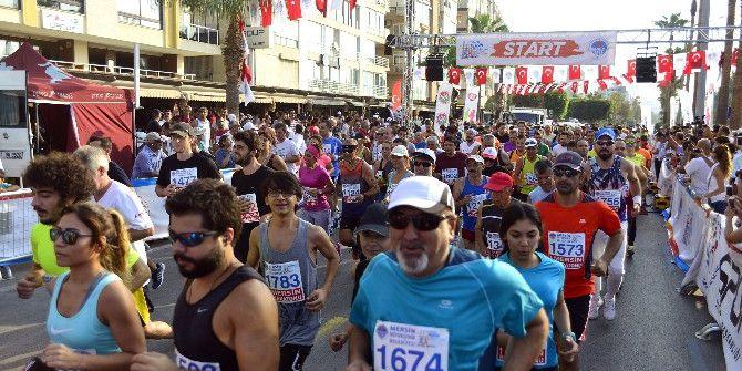 Mersin'de Maraton Heyecanı