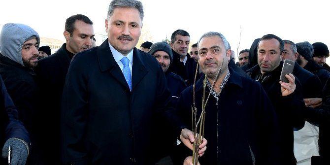 Büyükşehir Belediyesi 646 Bin Fidan Dağıttı