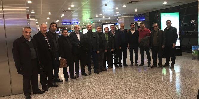 Müsiad Malatya Şubesi İran'a Gitti