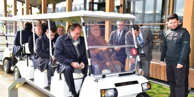 Tff Yönetimi Golf Sahasına Hayran Kaldı