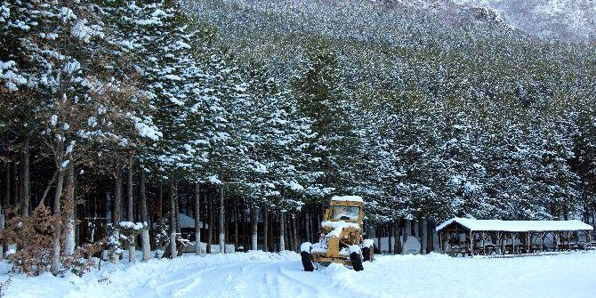 Kar Tatilini Fırsat Bilen Öğrenciler Piknik Yaptı
