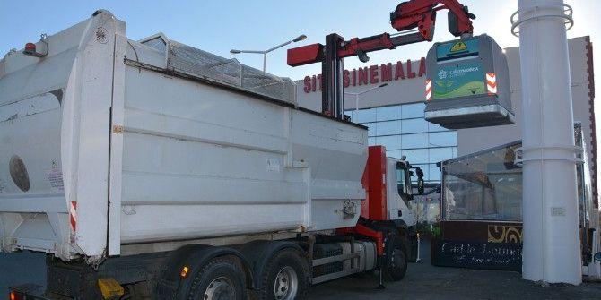Yeni Nesil Çöp Konteynırlarının Dağıtımı Sürüyor