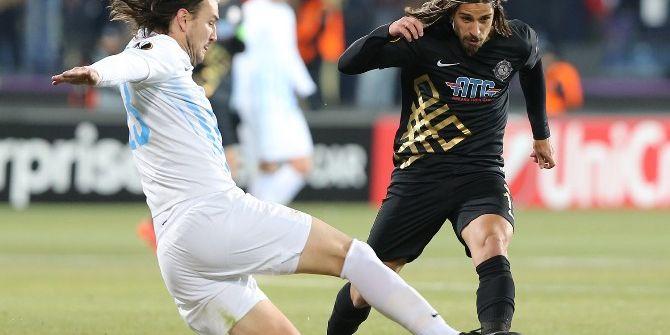 Uefa Avrupa Liginde Osmanlıspor Grubu Lider Tamamladı