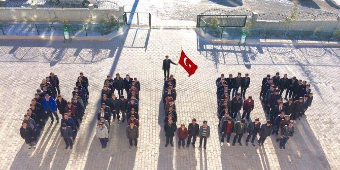 İmam Hatip Lisesi Öğrencileri Halep'teki Zulme Sessiz Kalmadı