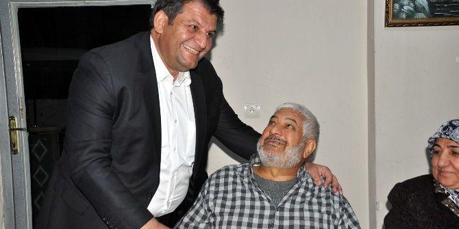 Akçakale Belediye Başkanı Abdülhakim Ayhan Engellilerle Yemekte Buluştu