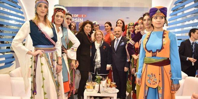 Mersin Standına Travel Turkey İzmir'de Yoğun İlgi