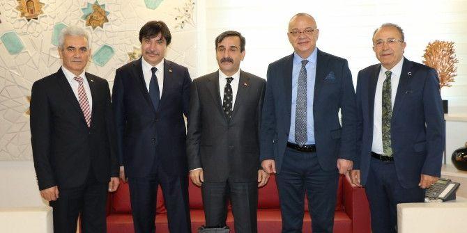 Başkan Ergün'ün Yoğun Trafiği