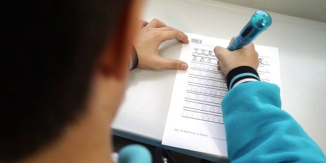Çocukların Yazısını Güzelleştiren Kalem