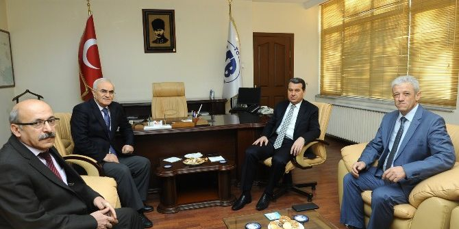 Vali Azmi Çelik'ten Defterdar Aydın'a Ziyaret
