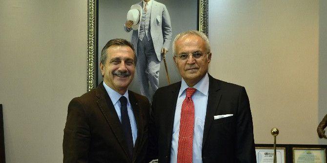 Ünsal'dan Başkan Ataç'a Veda Ziyareti