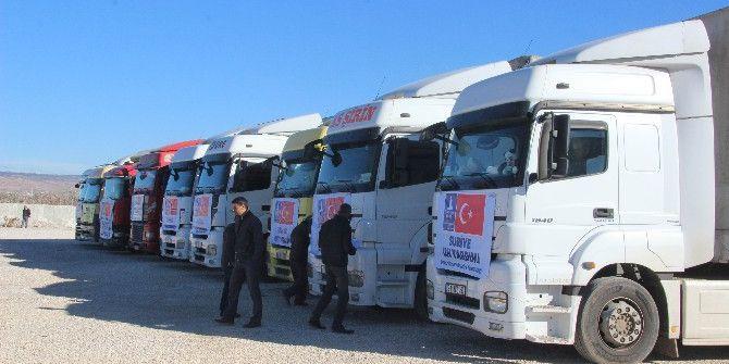 Halep'e İnsanı Yardım Malzemesi Gönderildi