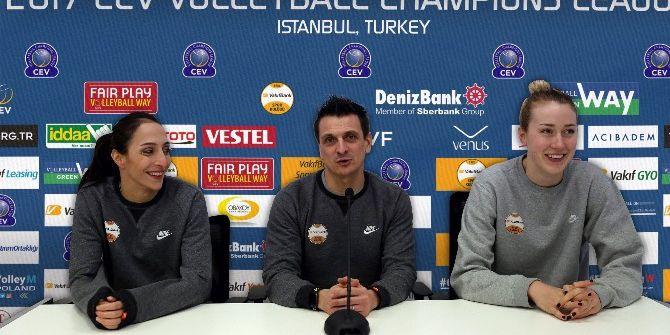 Vakıfbank'ın Şampiyonlar Ligi Heyecanı Yeni Salonunda Başlıyor