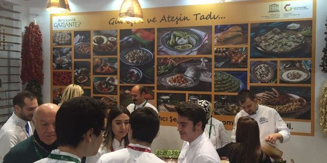Ünlü Şefler Gastronomi Turizmi Kongresinde