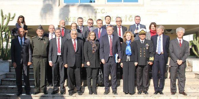 Ab Büyükelçileri Mersin'de