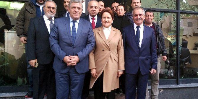Meral Akşener, Yeniçağ Gazetesine Ziyarette Bulundu