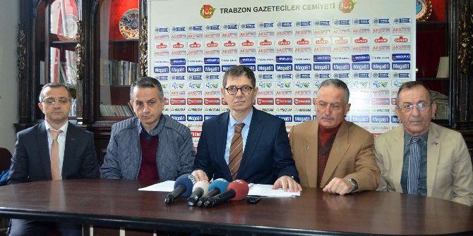 "Ören: ""Trabzonspor'un Borcu 559 Milyon 308 Bin 817 Tl'dir"""