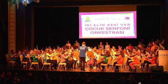 Çocuk Senfoni Orkestrası Ankara'da Unıcef İçin Çaldı