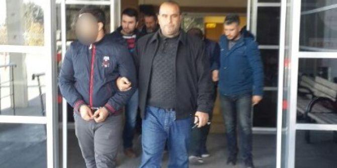 Girdikleri Evden 13 Bin Tl'lik Altın Ve Para Çalan Hırsızlar Yakalandı