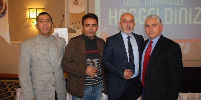 Mercan Tv'ye Yılın Basın Ödülü Verildi