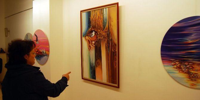 Trabzonlu Ressamlar, Gaziantep'te Sergi Açtı