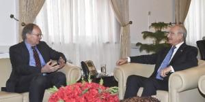 Kılıçdaroğlu, Christian Berger İle Görüştü