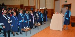Ydü Beden Eğitimi Spor Yüksekokulu Mezunları Diplomalarını Aldı