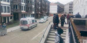 Termal Otelin Çatısı Çöktü: 4 Yaralı
