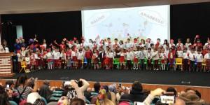 Halime Hatun Anaokulu'ndan Muhteşem Karne Gösterisi