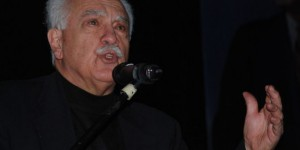 Vatan Partisi Genel Başkanı Perinçek Çorlu'da