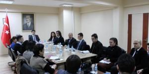 Kaymakam Tunç'tan Bengi Toplantısı
