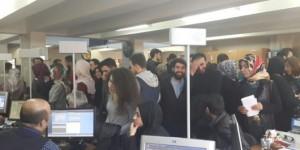 Üniversiteliler Nüfus Müdürlüklerine Akın Etti